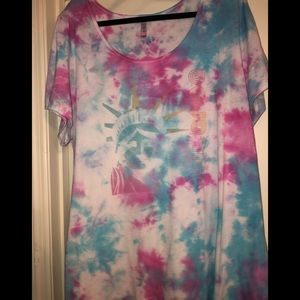 3X Classic Tee custom dyed new without tags